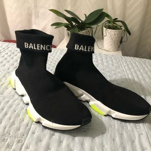 Balenciaga Speed Trainers Cuffed Size 12